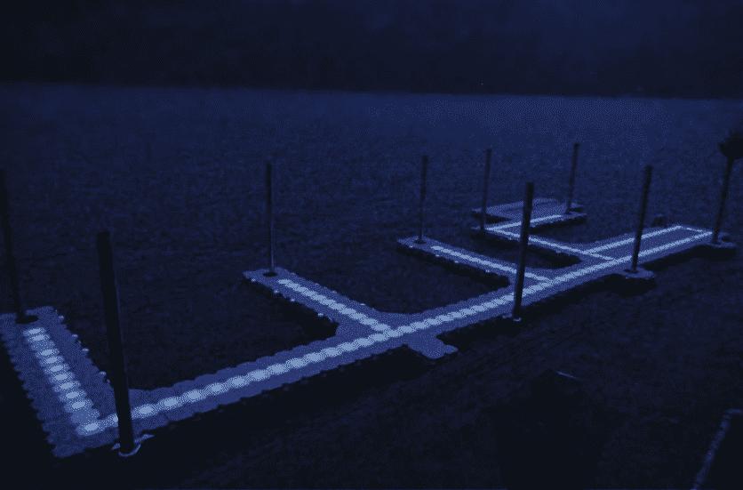 Come illuminare a LED il tuo dock per creare un'esperienza serale unica Candock Italia