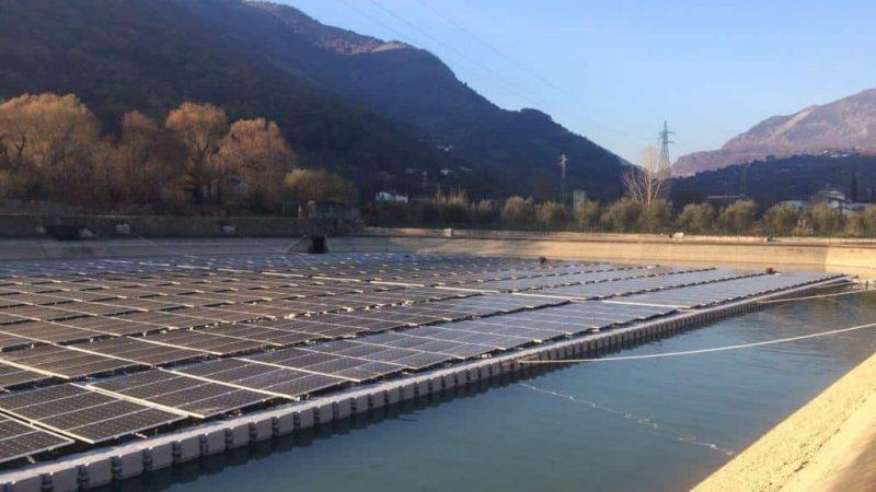 fotovoltaico galleggiante Candock